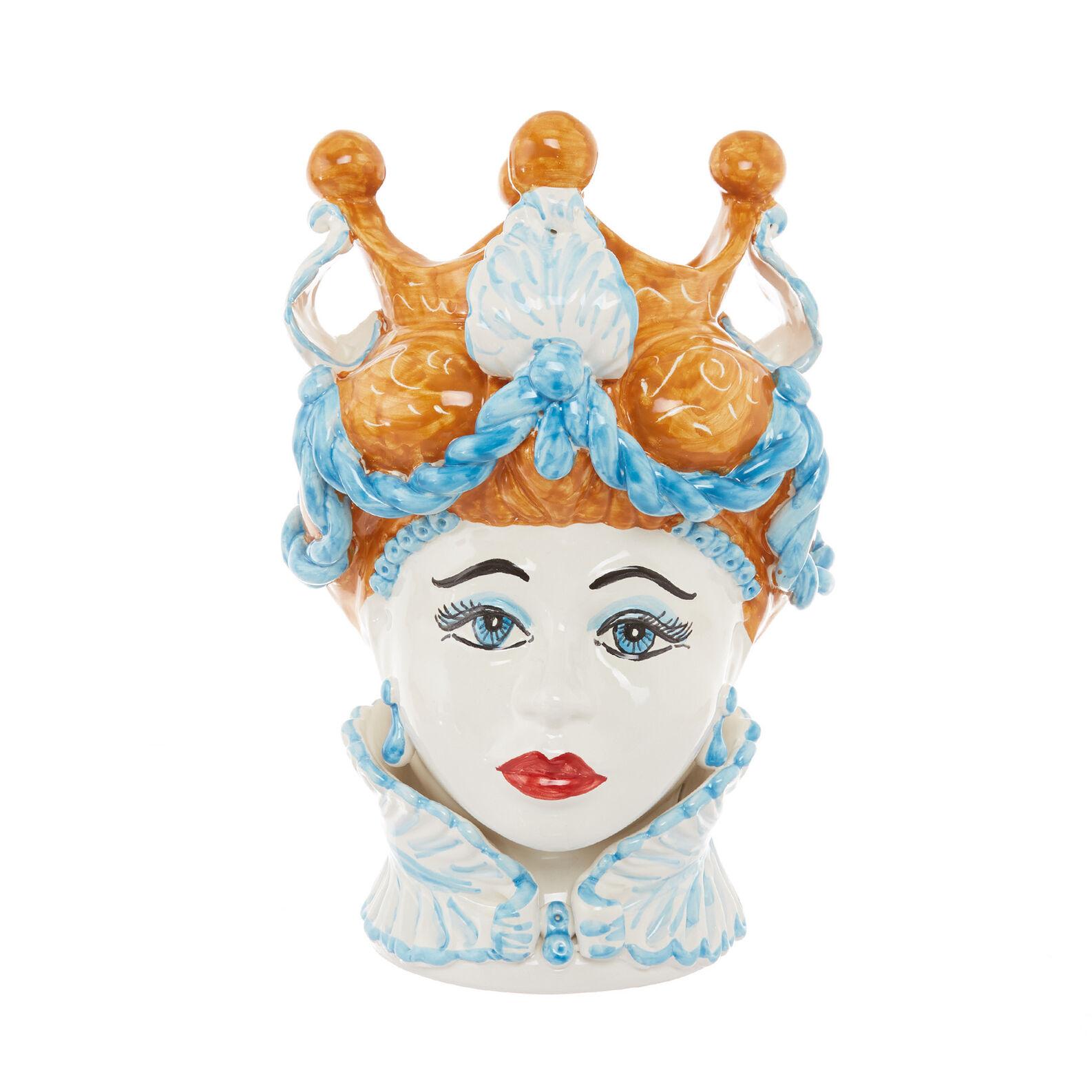 Testa di moro arabesque by Ceramiche Siciliane Ruggeri