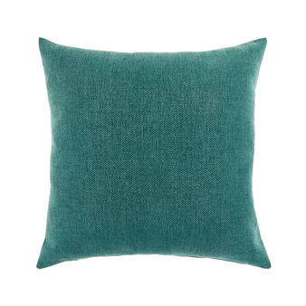 Solid color cushion with shaded effect