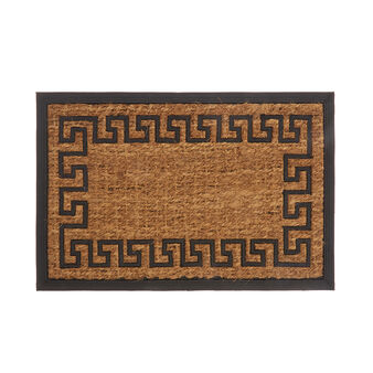 Coconut doormat with frame