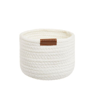 Organic cotton basket