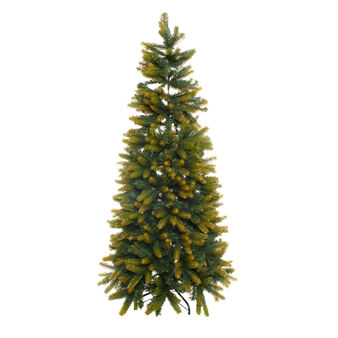 Everest Christmas tree with gold glitter effect H255 cm