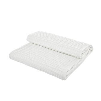 Pure cotton waffle weave bath towel
