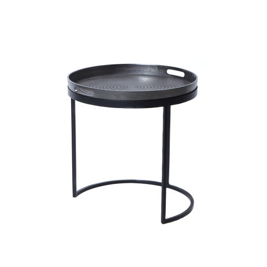 Goa round coffee table in iron
