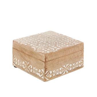 Box legno inciso a mano