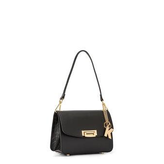 Shoulder bag in genuine Koan leather