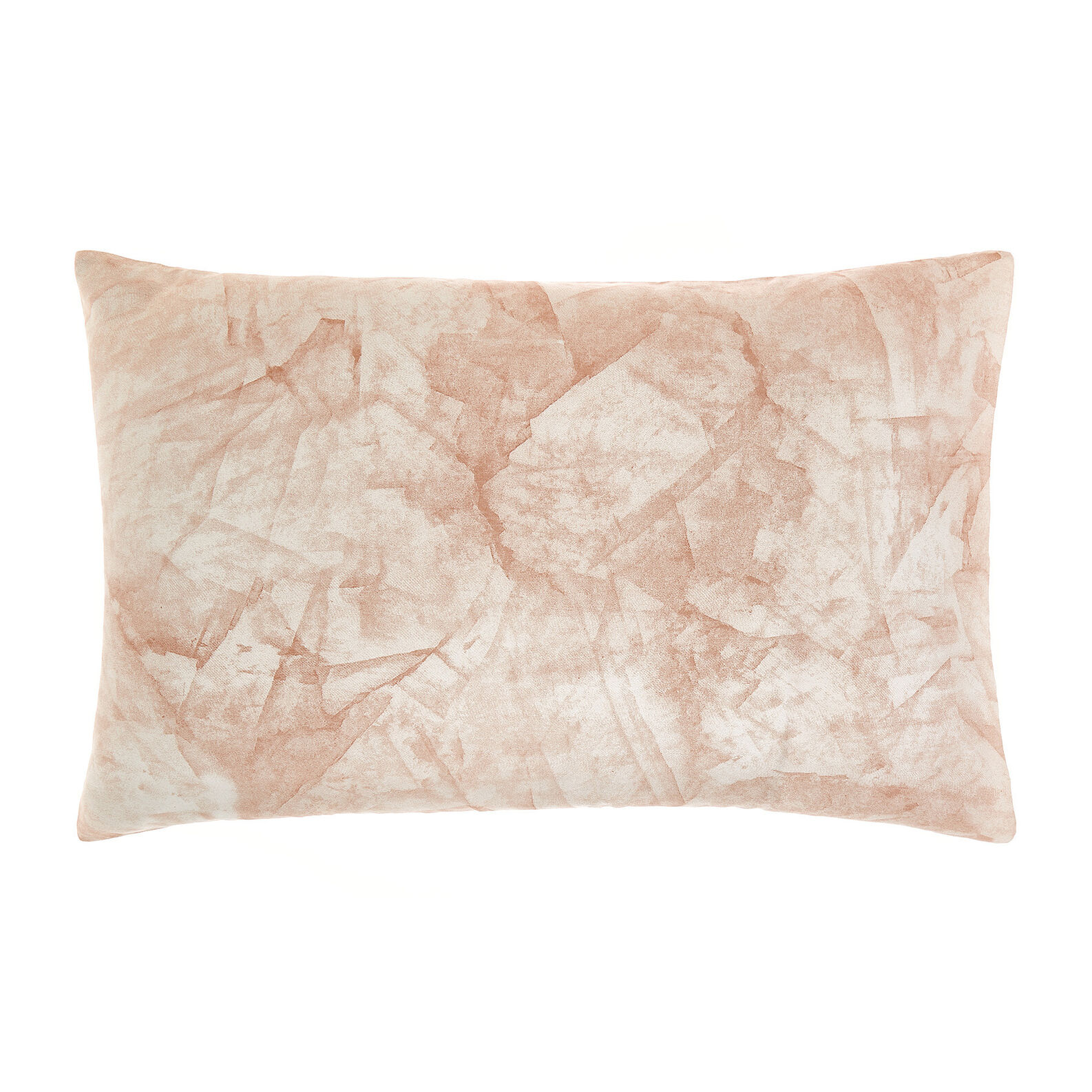 Cotton satin pillowcase with marble pattern