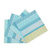 Set 4 tovaglioli puro cotone a righe