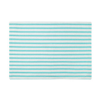 100% cotton table mat with striped print