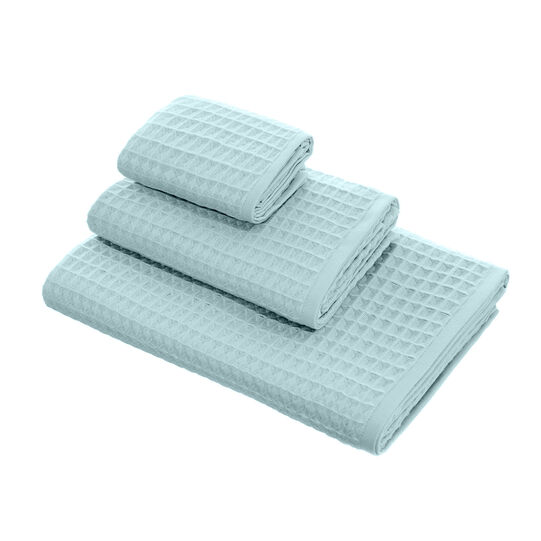 Thermae waffle weave towel
