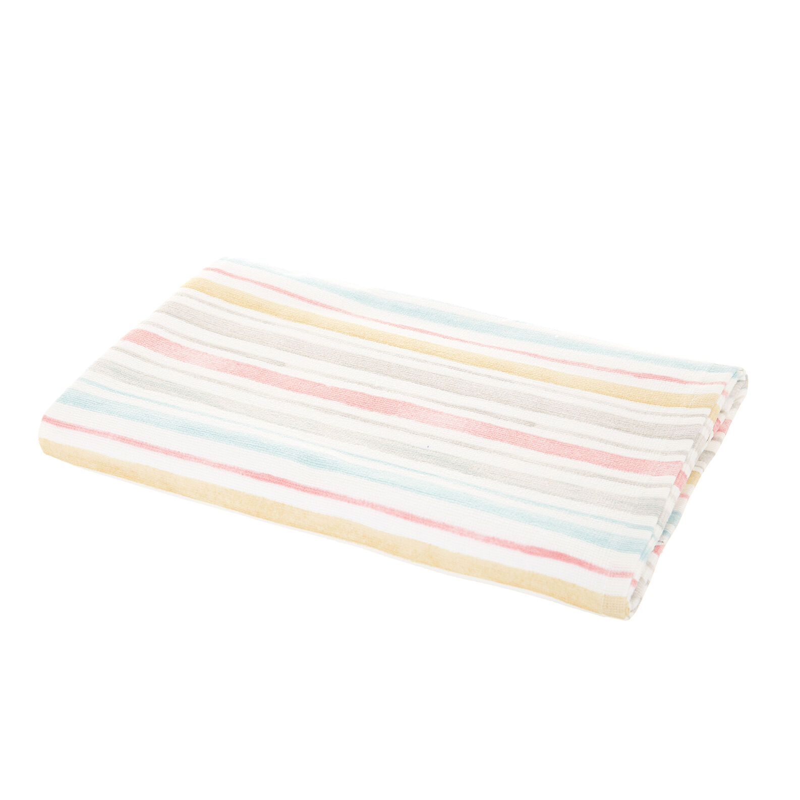 Asciugamano velour puro cotone a righe