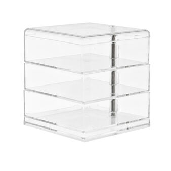 Plastic storage with 3 shelves