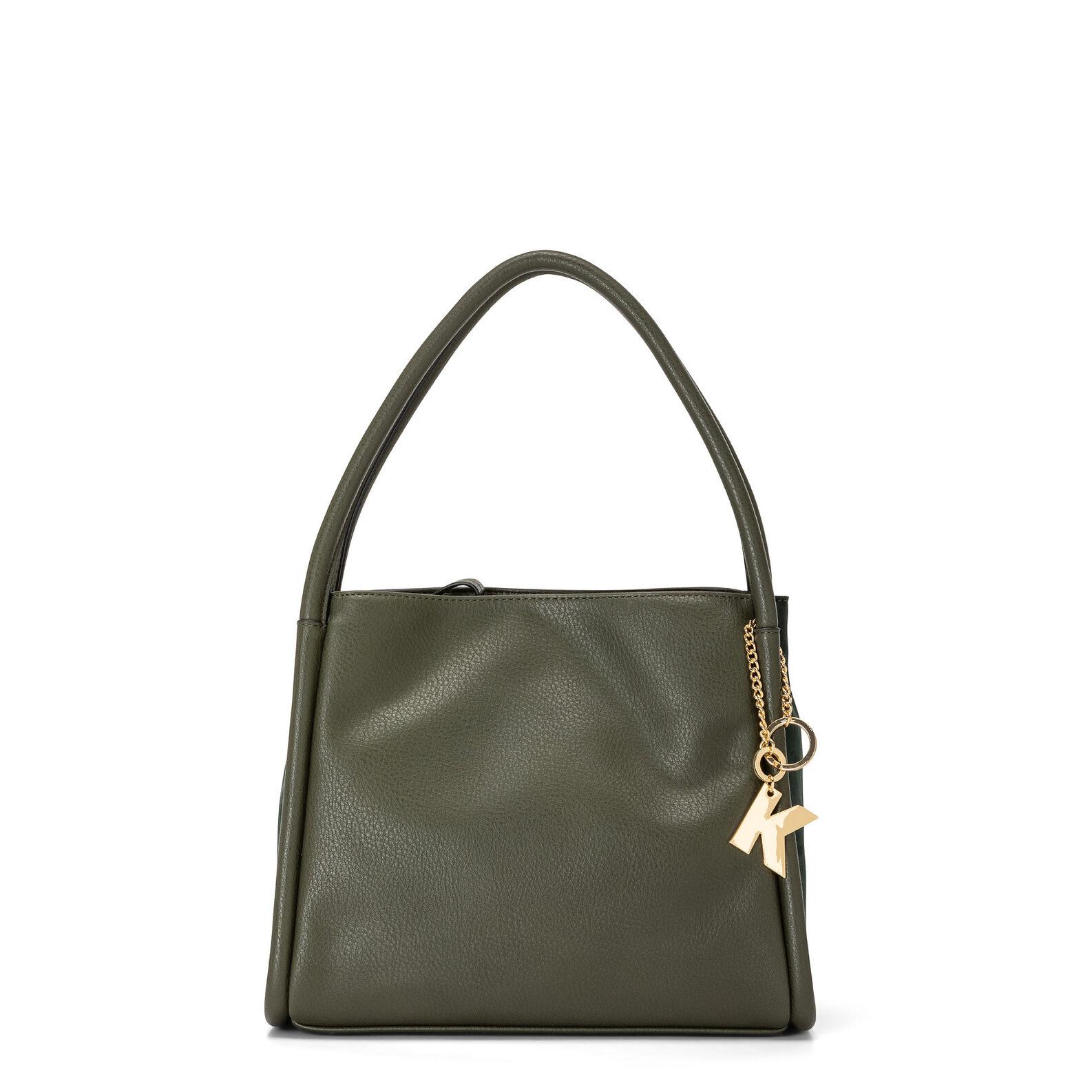 Koan shoulder bag with inserts