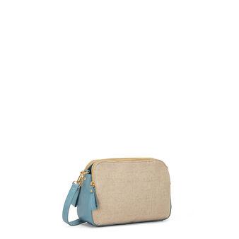 Koan cotton canvas bag with shoulder strap