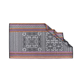 Yarn-dyed ethnic style beach towel in 100% cotton
