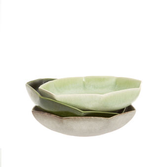 Japanese-style ceramic soup bowl