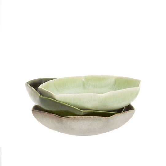 Japanese-style ceramic soup bowl