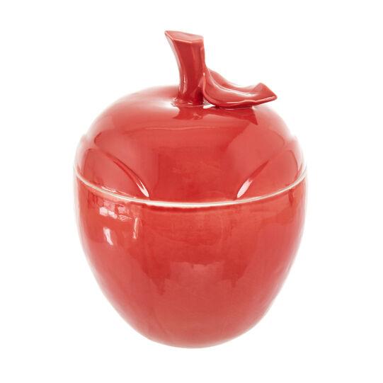 Biscottiera in porcellana a mela