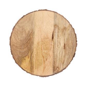 Sottopiatto in legno di mango