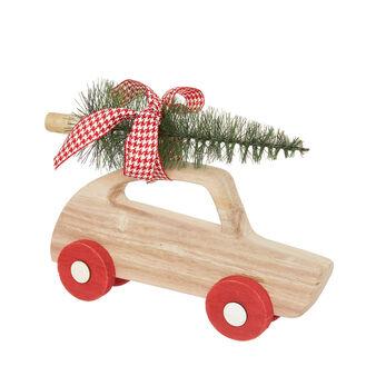 Macchinetta decorativa in legno