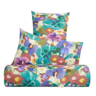Organic cotton duvet cover with Amazon pattern
