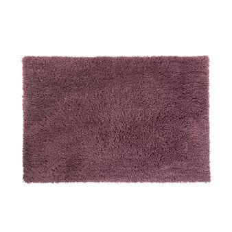 Long pile microfibre bath mat
