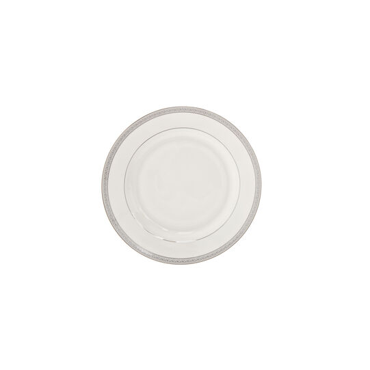 Bread plate in new bone China with decoration