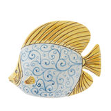 Decorative fish by Ceramiche Siciliane Ruggeri