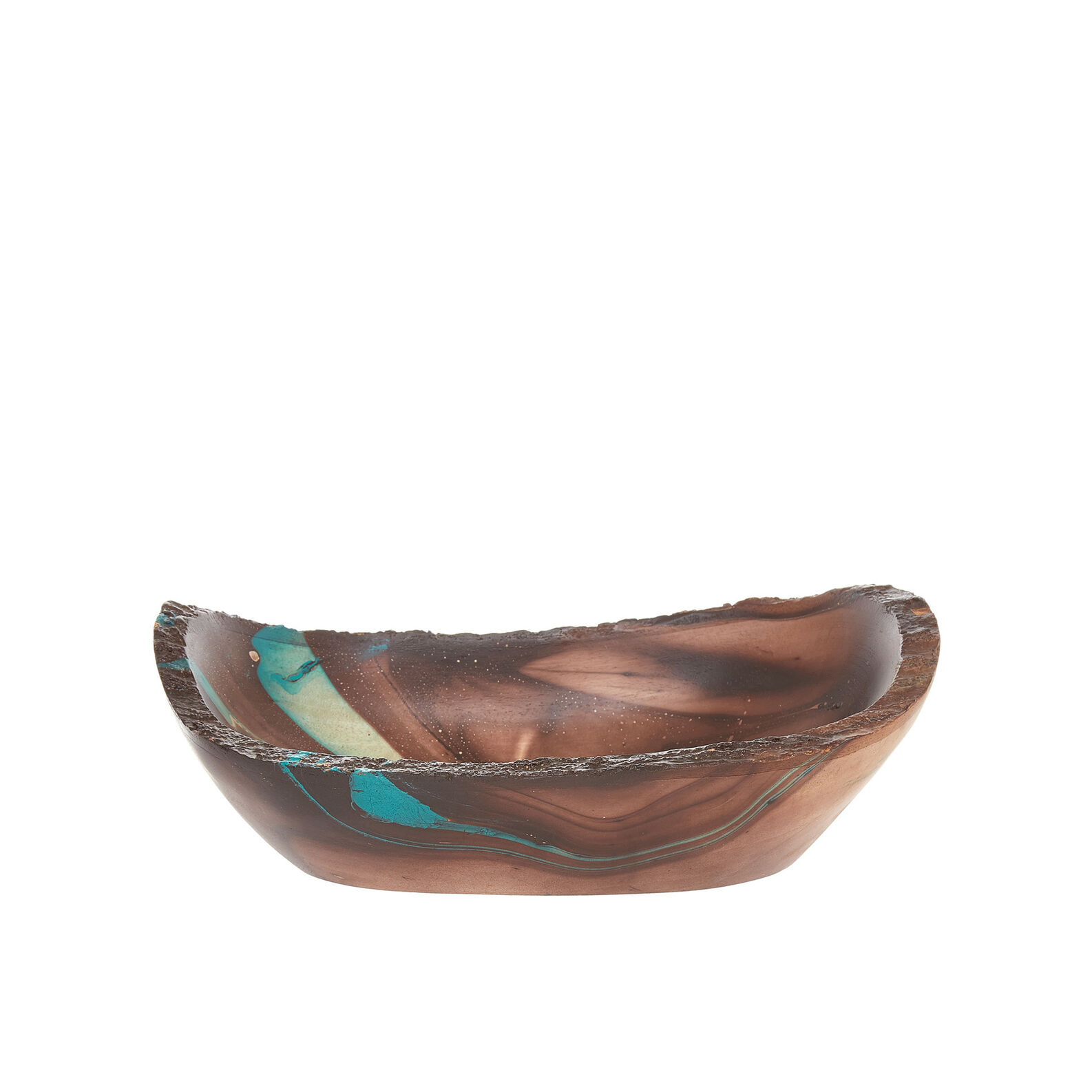 Handmade decorative mango wood bowl