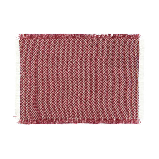 Pure cotton table mat with fringe