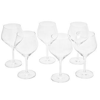 Set of 6 Audience goblets