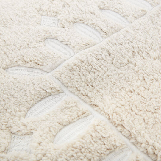 Pure cotton bath mat