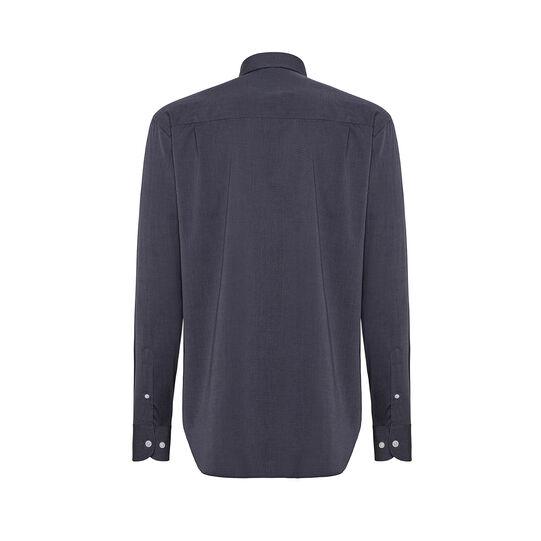 Regular fit button-down shirt in cotton