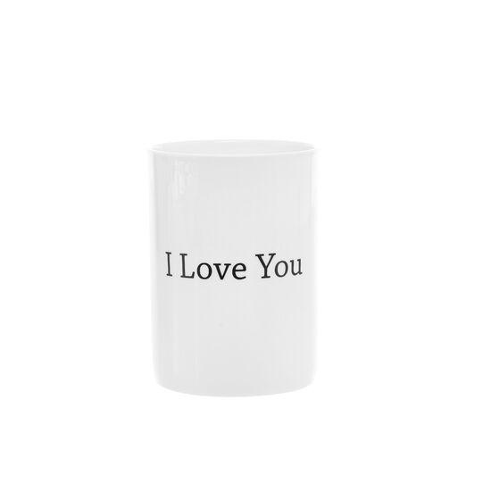 Mug in new bone china I love you