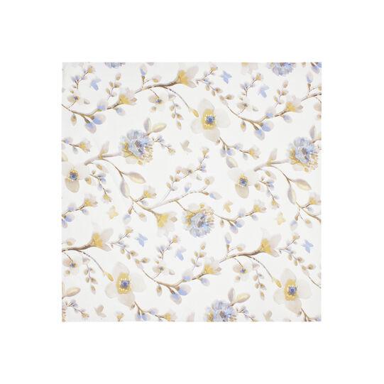Centrotavola twill di puro cotone floreale
