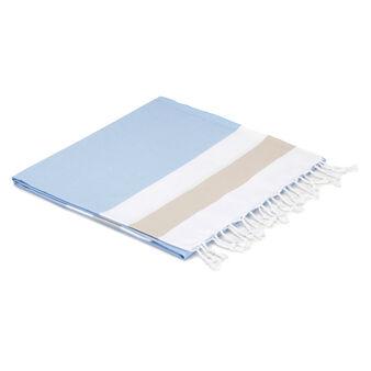 Plaid puro cotone profili rigati