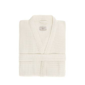 100% cotton honeycomb bathrobe Thermae