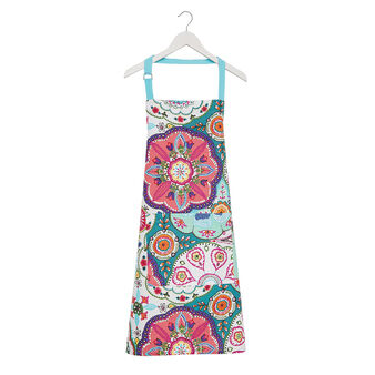 100% cotton apron with abstract print