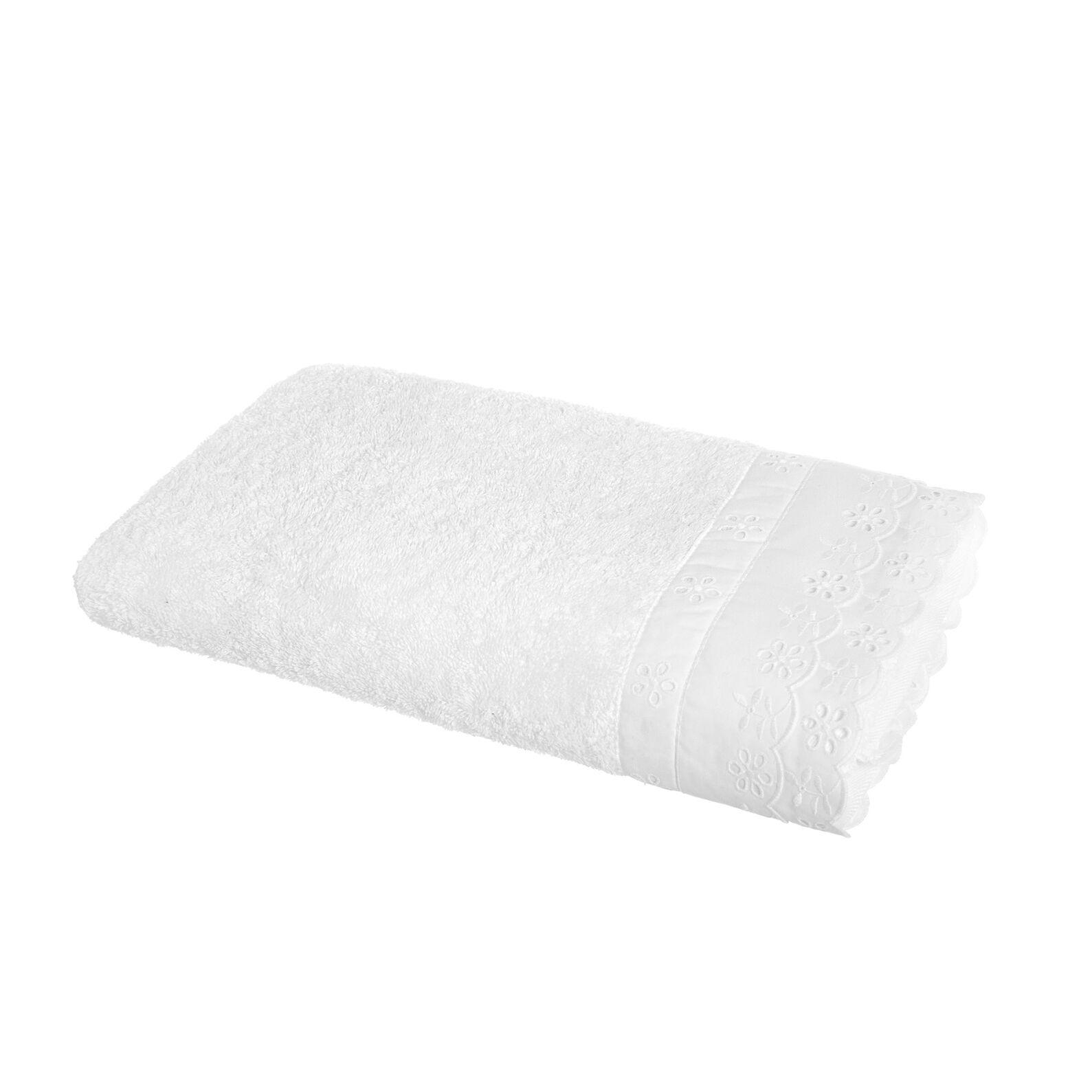 Portofino broderie towel