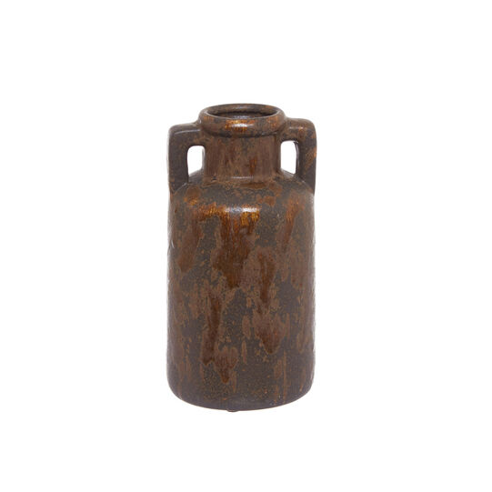 Bottiglia decorativa ceramica fatta a mano