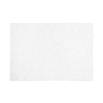 100% cotton table mat with lurex braiding
