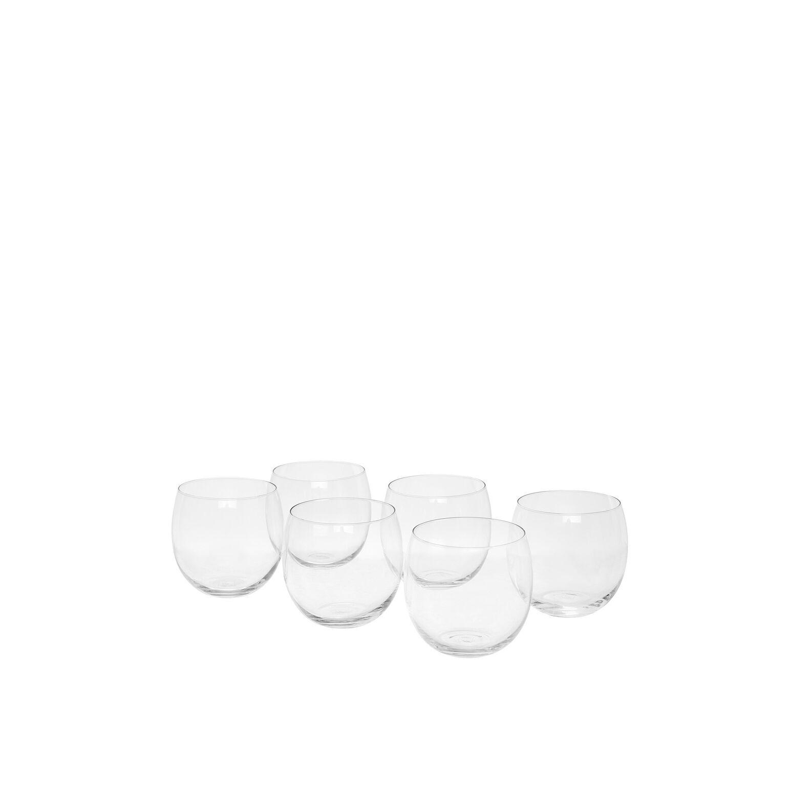 Set of 6 Bubbly shot glasses