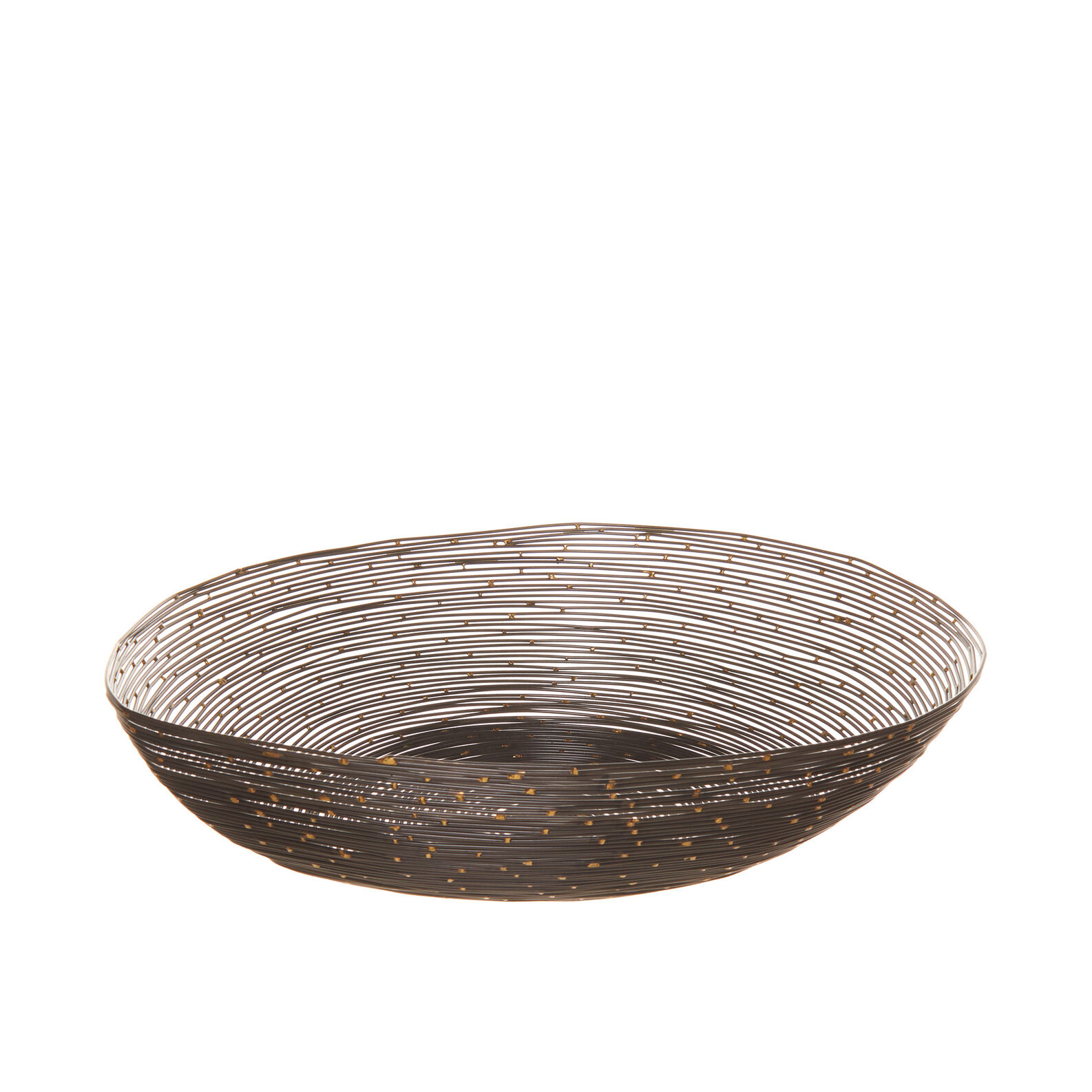 Decorative iron wire bowl