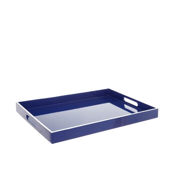 Coloured wood tray
