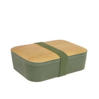 Lunch box fibra di bamboo e legno