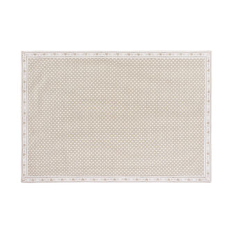 100% cotton table mat with small hearts print