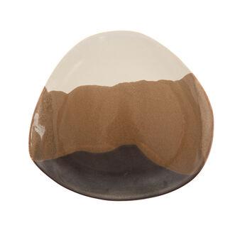 Piatto piano ceramica Terra