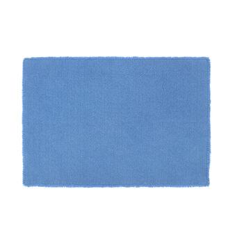Tappeto bagno puro cotone intrecciato