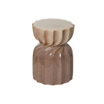 Base decorativa ceramica fatta a mano