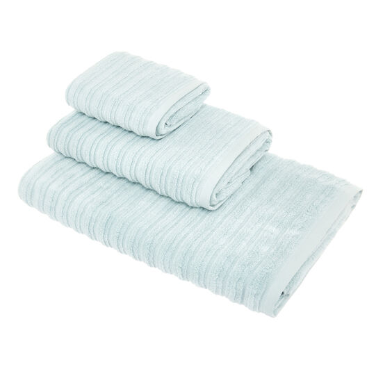 Solid color organic cotton towel