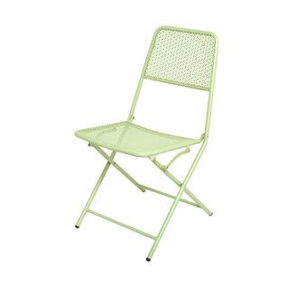 Sedia in acciaio Green
